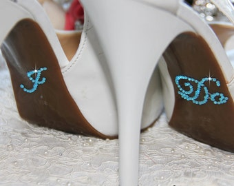 I DO Sticker for Bridal Shoes, Something Blue Rhinestone I Do Bridal Shoes Sticker, Crystal I Do Sticker Applique, I Do Shoe Applique