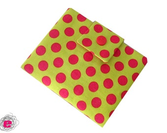 Wallet polka dots,  money purse