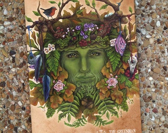 The Greenman Blank Book Journal