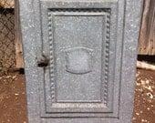 Metal Pie Safe/Bread Box Vintage reserved for Glenn