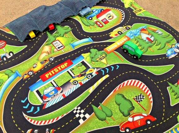 Cars Race Track Playmat