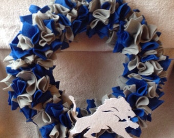 Detroit Lions Wreath