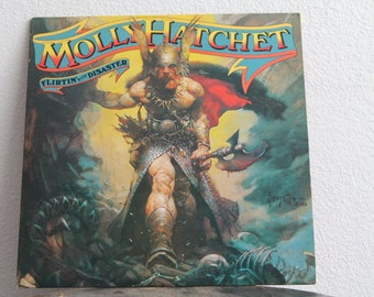 "Molly Hatchet - ""Flirtin With Disaster"" vinyl record"