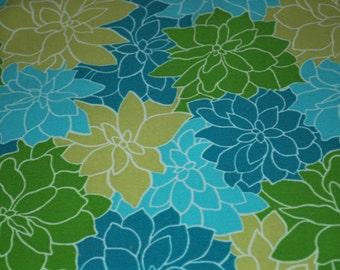 Tropical Aqua/Green & Green/White Chevron Placemat