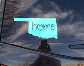 "ANY state ""Home"" car decal. 24 different color options!"