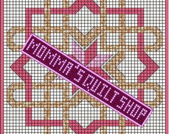 Celtic Knot Queen Size Quilt Pattern