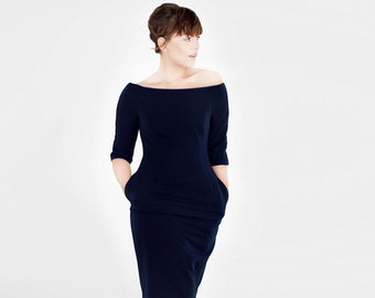 L.I.Z.Z.Y blue shift dress