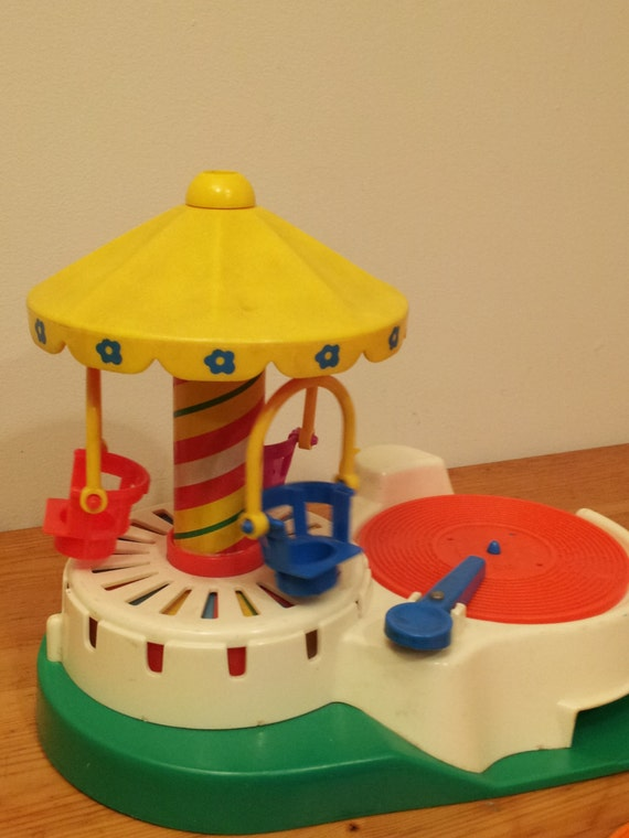 1980s Fisher Price Record Player Change A By