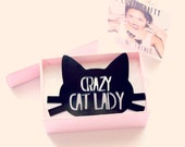 Cat Jewelry // Crazy Cat Lady Brooch