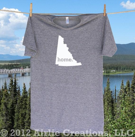 Yukon Territory Canada Home Shirt T Shirt Unisex By