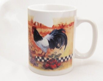 Down on the Farm Rooster Mug