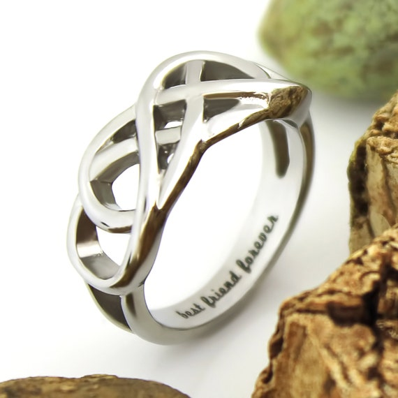 friends infinity ring promise ring infinity symbol