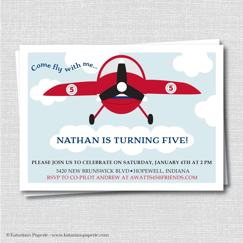 Airplane Invitations was good invitation layout
