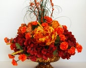 Fall/Thanksgiving Silk Floral Centerpiece