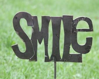 Smile Garden Stake