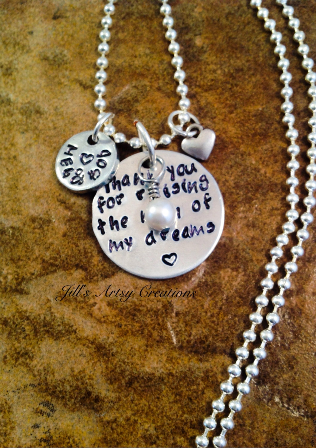 personalized jewelry mother in law necklace mother of the. Black Bedroom Furniture Sets. Home Design Ideas