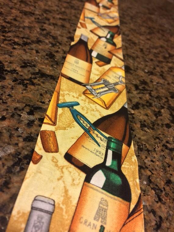 Wine glass bottle cork pattern 100 cotton unwired ribbon 2 for Wine cork patterns