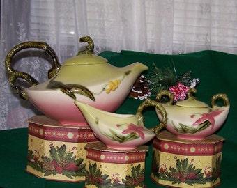 25% off! Mint Hull Woodland Tea Set