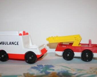 Fisher Price vehicles- 1970s