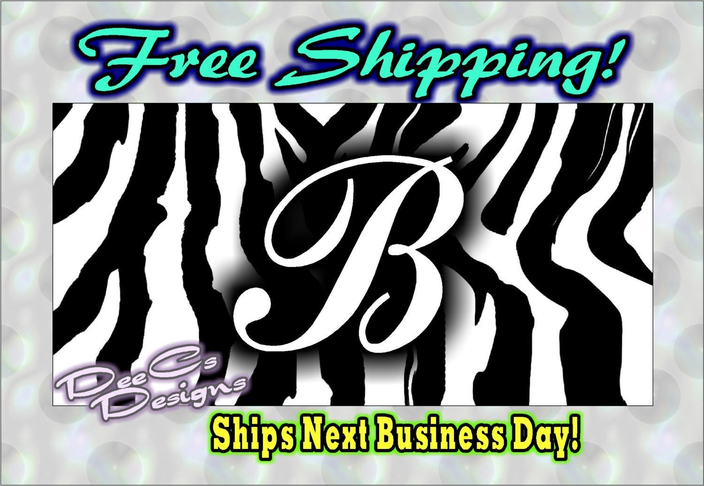 Deal Alert! Zebra plates