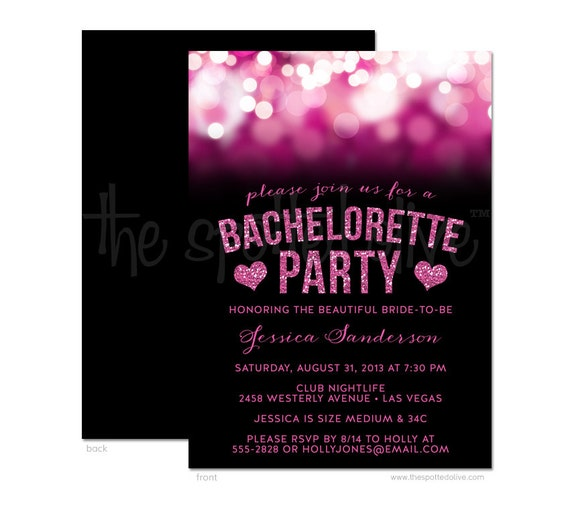 Free Bachelorette Party Invitations for your inspiration to make invitation template look beautiful