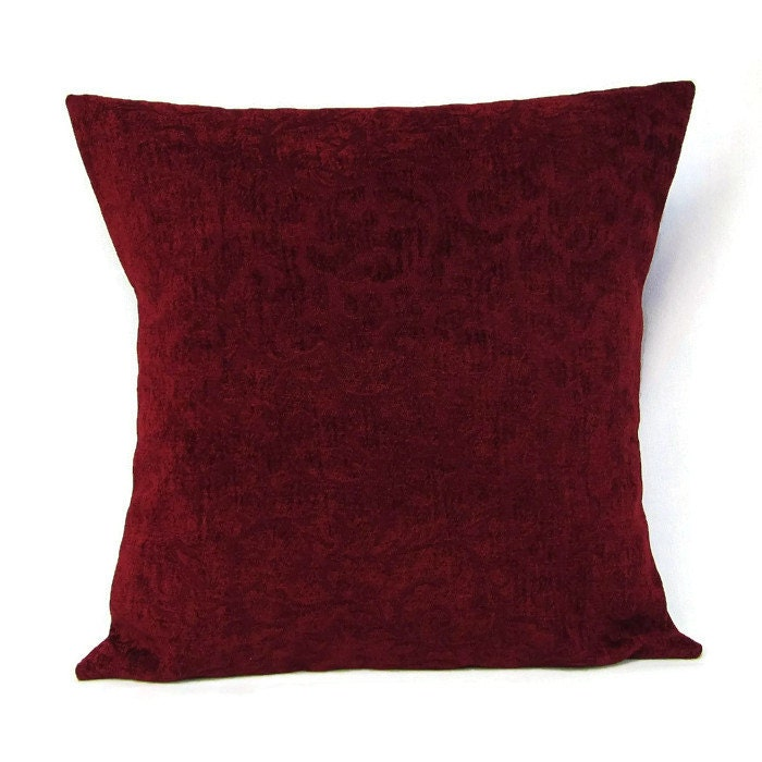 sale burgundy pillow cover home decor decorative throw toss