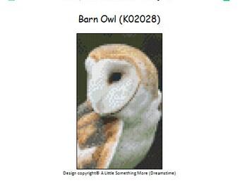 MosaiCraft Pixel Craft Mosaic Art Kit 'Barn Owl' (Like Mini Mosaic and Paint by Numbers)