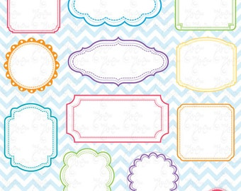 Frame Designs ,Digital frame,Frame Clip Art Elements, perfect for Scrapbook,Cards,Invitations,Personal and Commercial Use Df001