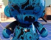 It's All Blue - Custom 4 inch Munny