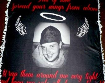 Memorial Photo Blankets