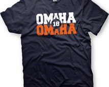 OMAHA OMAHA -  Peyton Manning- Denver Broncos Tshirt