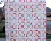 Charming - a Digital Quilt Pattern - Charming - Baby, Lap, and King Sizes - Layer Cake and Charm Pack friendly - Easy Quilt Pattern
