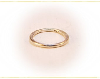 925-Silver stacking ring