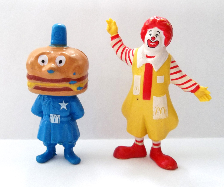 Er jahre mcdonalds happy meal spielzeug ronald mcdonald