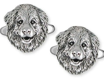 Great Pyrenees Cuff Link Jewelry  GPR3-CL