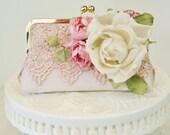 Pink Wedding, Vintage Bride, Vintage Wedding, Wedding Handbag
