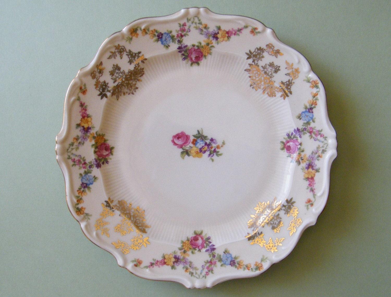 vintage schirnding bavaria porcelain china by onegirlsvintage. Black Bedroom Furniture Sets. Home Design Ideas
