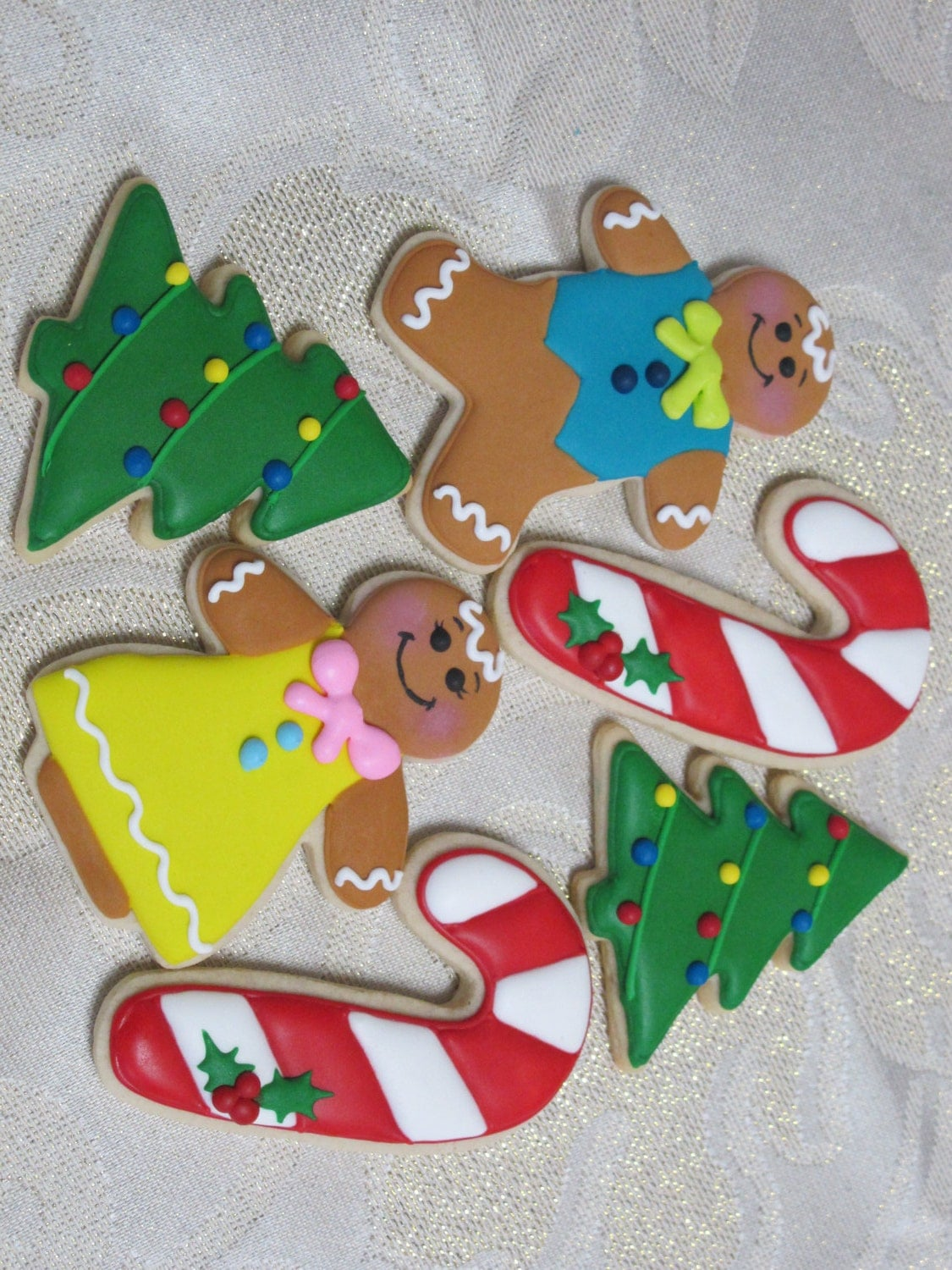 Images Of Christmas Decorated Sugar Cookies By MartaIngros