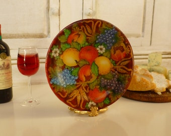 Tuscan Fruit Plate for Dollhouse