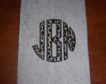 Unique Leopard Towel Related Items Etsy