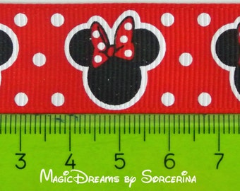 "Ribbon  7/8"" inch,""Minniehead"""