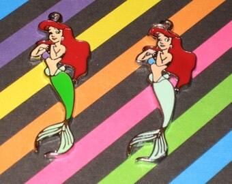 The Little Mermaid Body Enamel Pendant Charm(s) Only