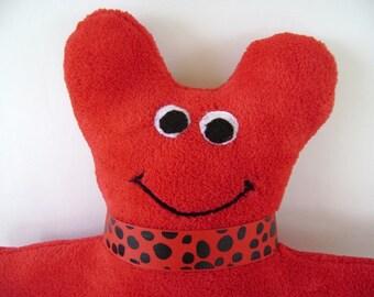 Stuffed Animal Plush, Alien Monster, Red Plush Animal, Monster Plush Toy