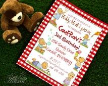 Teddy Bear's Picnic Invitations