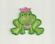 Frog Prince Patch! Custom Made!