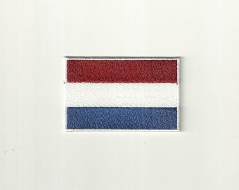 Netherlands Flag Patch! Custom Made!