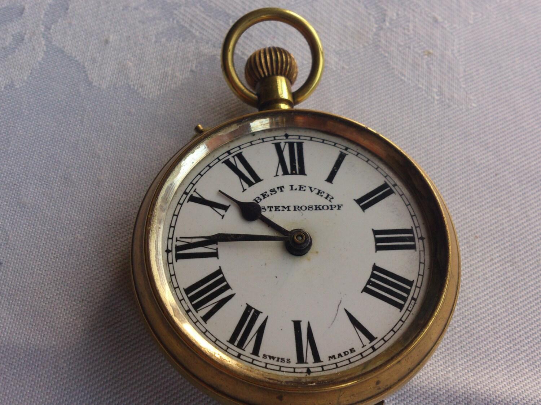 vintage best lever system roskopf pocket