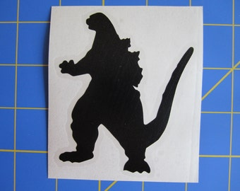 Godzilla 1980's Decal/Sticker 3X3.5