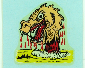 Rat Fink Decal Originals by Monte Water Slide Decal