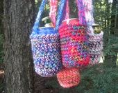 Made to order can and bottle cozy with strap, koozie, great for spring, summer and festivals